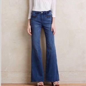 Pilcro and the Letterpress Flare Retro Jeans 26